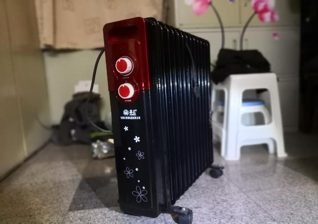 街道发放的电取暖器