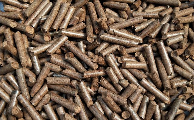 秸秆燃料颗粒机加工的生物质颗粒燃料