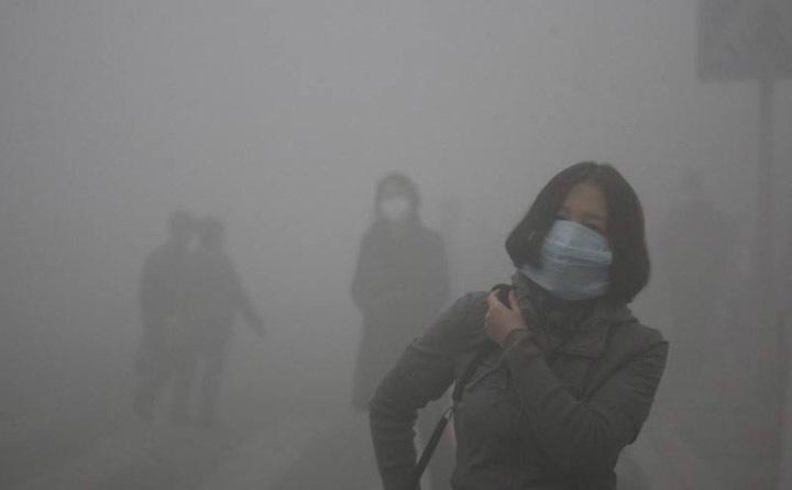 秸秆焚烧造成雾霾,严重污染空气