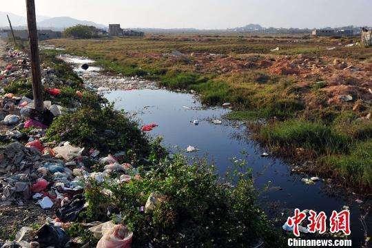 农村废弃物乱堆乱放