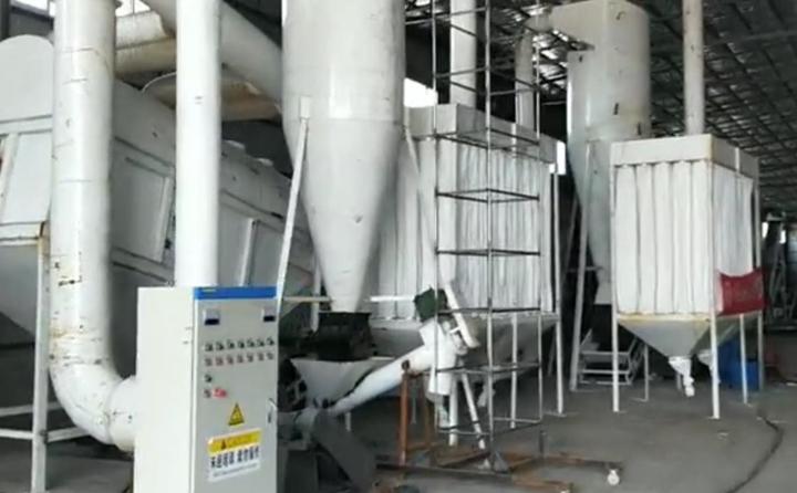 秸秆颗粒机生产线图片