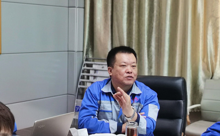 金格瑞总经理孙宁波做了2020年1-9月份的销售数据及销售情况的报告