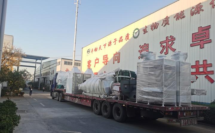 秸秆制粒机准备发往新疆阿克苏