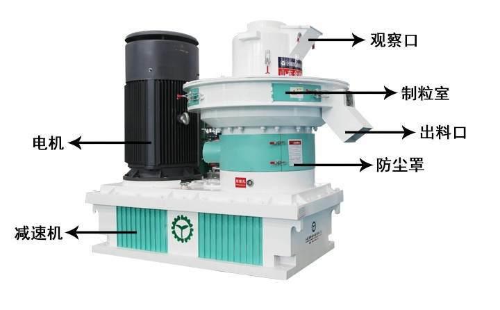 烟杆颗粒机机器结构介绍